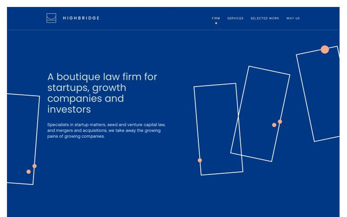 Screenshot of Highbridge - Highbridge Law Firm
