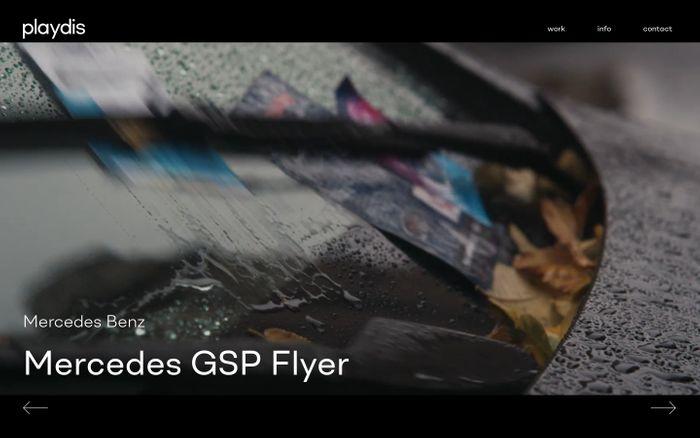Screenshot of Playdis