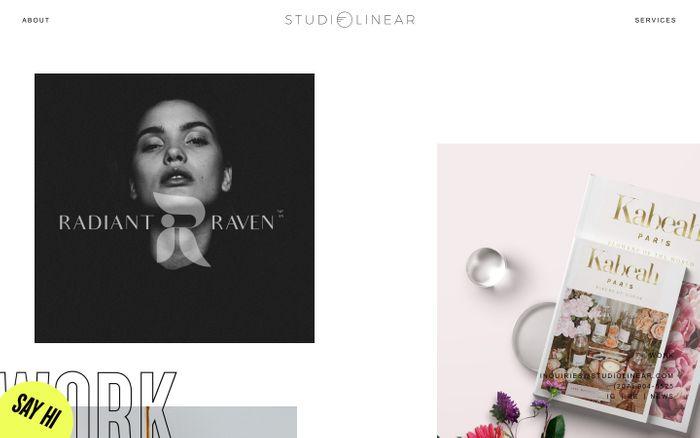 Screenshot of Studio Linear