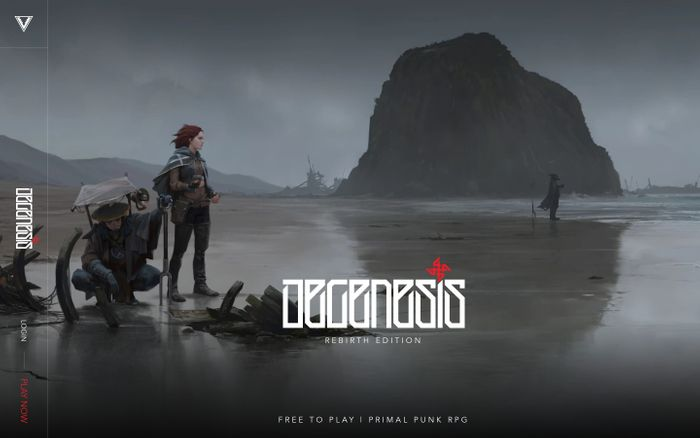 Screenshot of DEGENESIS - Home