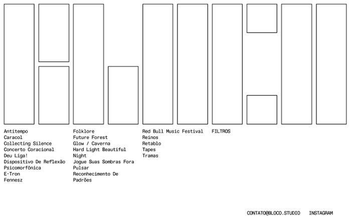 Screenshot of Bloco | Estúdio de experiências multimídia