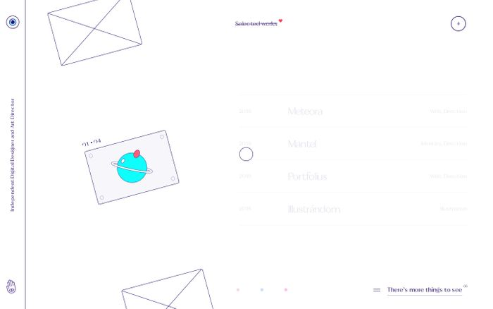 Screenshot of Igor Mahr — Design and Art Direction