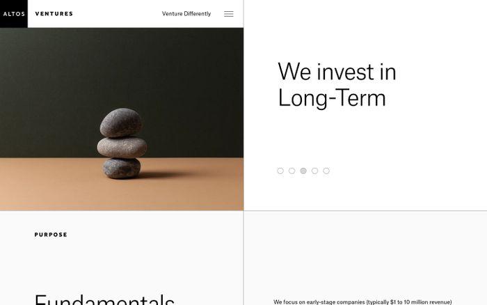 Screenshot of Altos Ventures