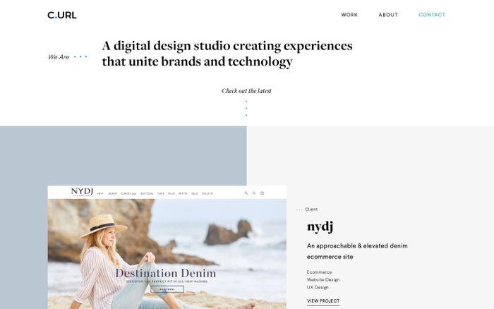 Screenshot of C.URL DIGITAL | Crafting Digital Experiences