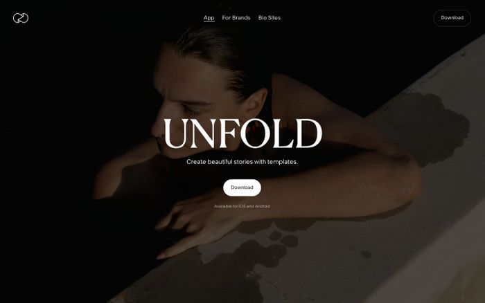 Screenshot of Unfold