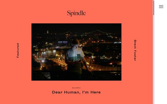 Screenshot of Spindle