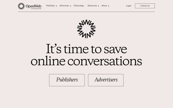 Screenshot of It's time to save online conversations | OpenWeb