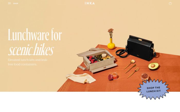 Screenshot of INKA Elevated Lunchware – INKA | Elevated Lunchware