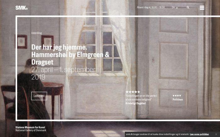 Screenshot of SMK – Statens Museum for Kunst i KøbenhavnSMK – Statens Museum for Kunst i København