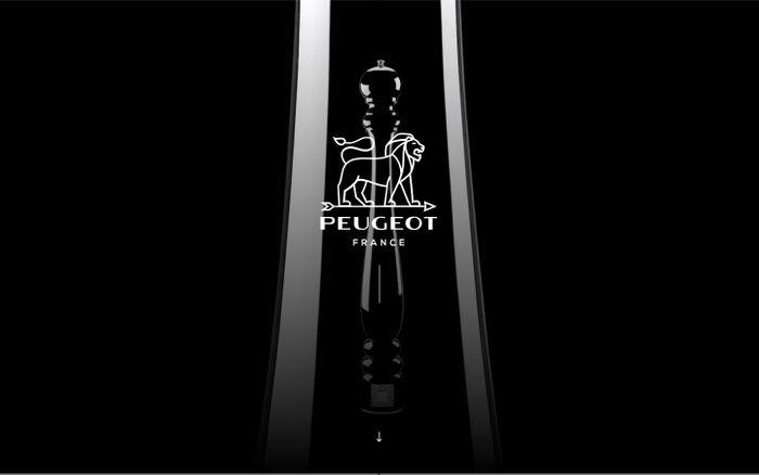 Screenshot of Peugeot, Spirit of Ingenuity website