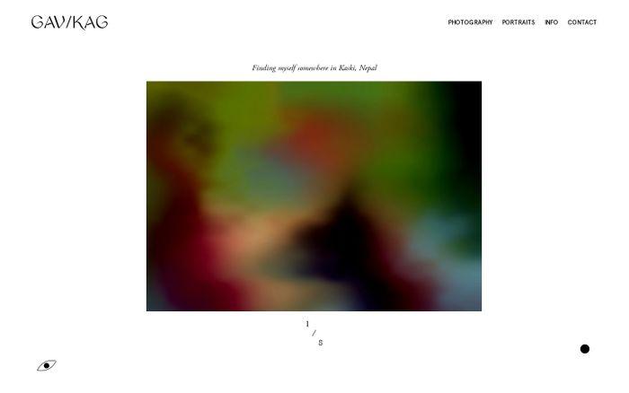 Screenshot of Inicio website