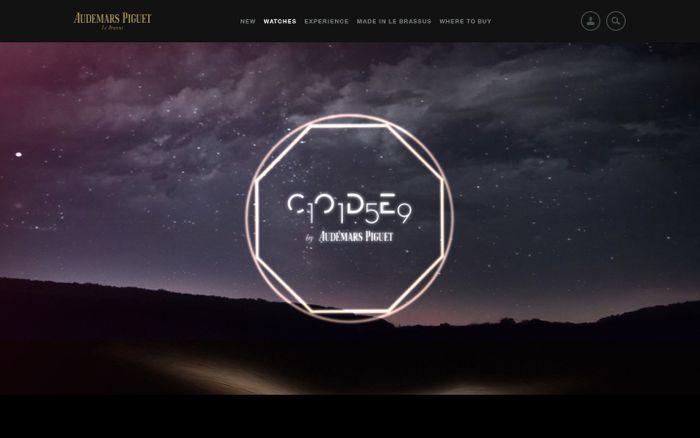 Screenshot of Audemars Piguet | CODE 11.59 by Audemars Piguet