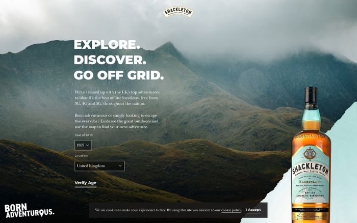 Screenshot of Shackleton X Off Grid