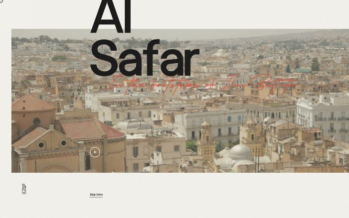 Screenshot of Al Safar - Home