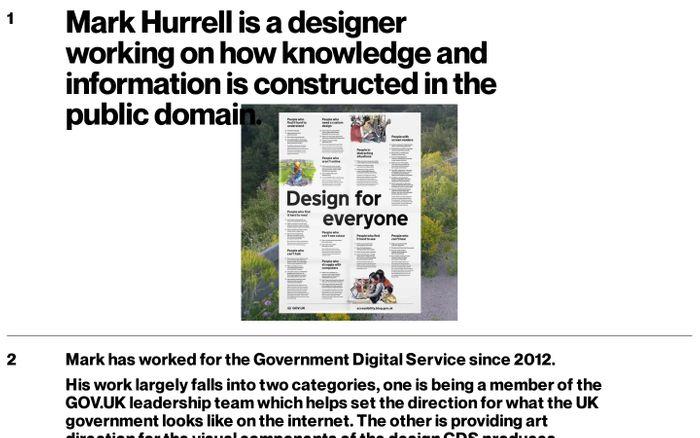 Screenshot of mark hurrell