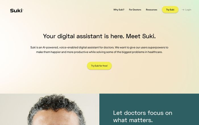 Screenshot of Suki