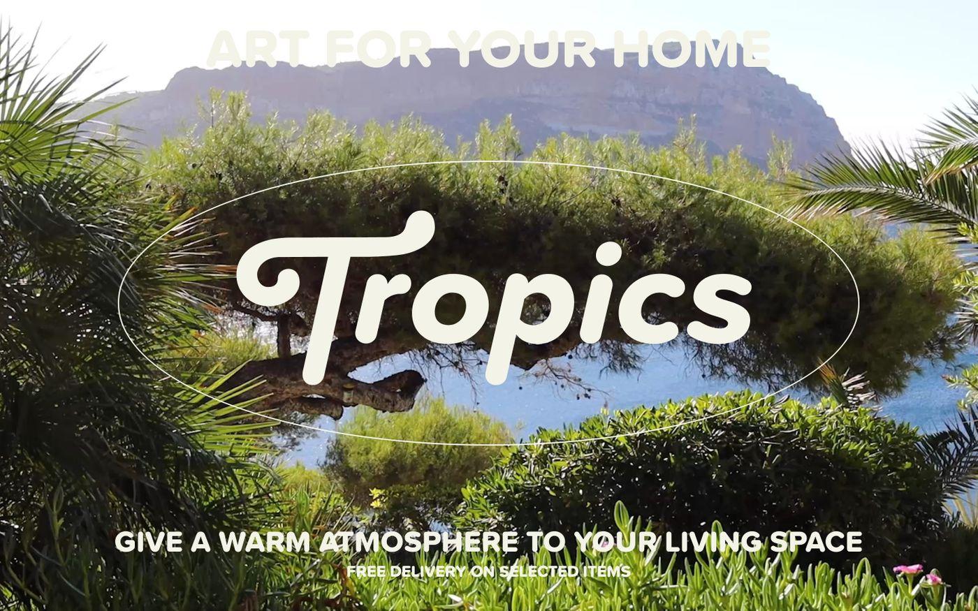 Screenshot of Tropics Paris website