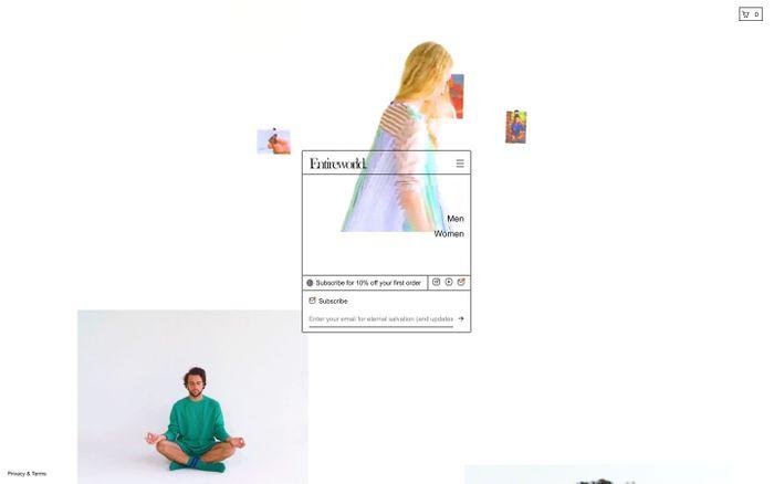 Screenshot of Entireworld