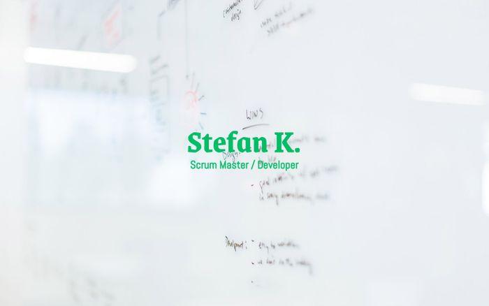 Screenshot of Stefan Kunze - Scrum Master / Developer