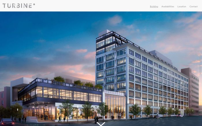 Screenshot of Turbine Brooklyn - Commercial Space for Rent
