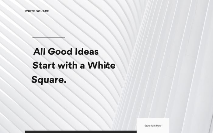 Screenshot of White Square