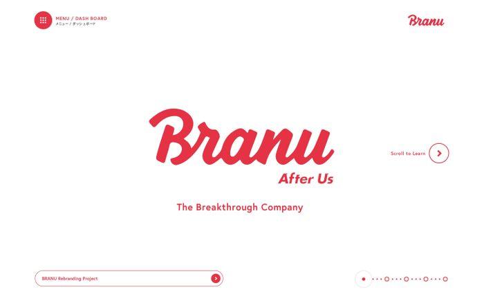 Screenshot of BRANU ブラニュー