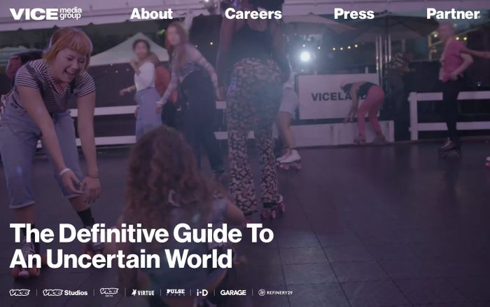 Screenshot of Vice