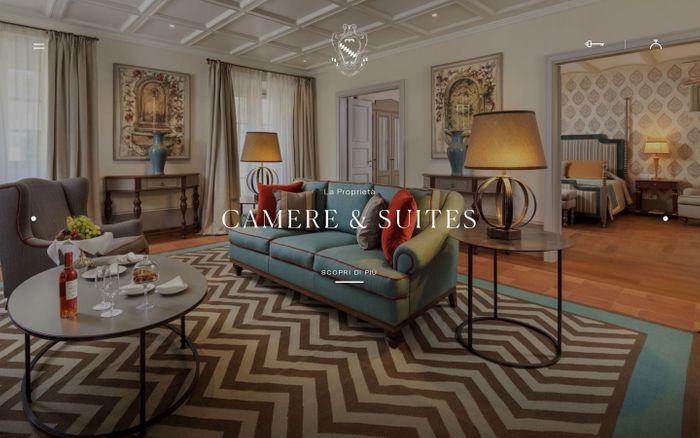 Screenshot of Hotel 5 stelle Firenze - Hotel di Lusso Villa La Massa
