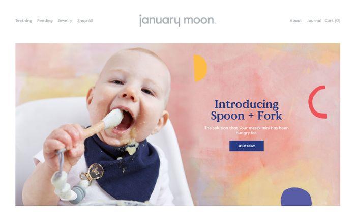 Screenshot of January Moon