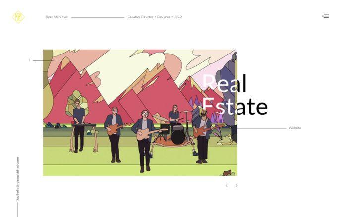 Screenshot of Ryan Michlitsch - Interactive Art Director