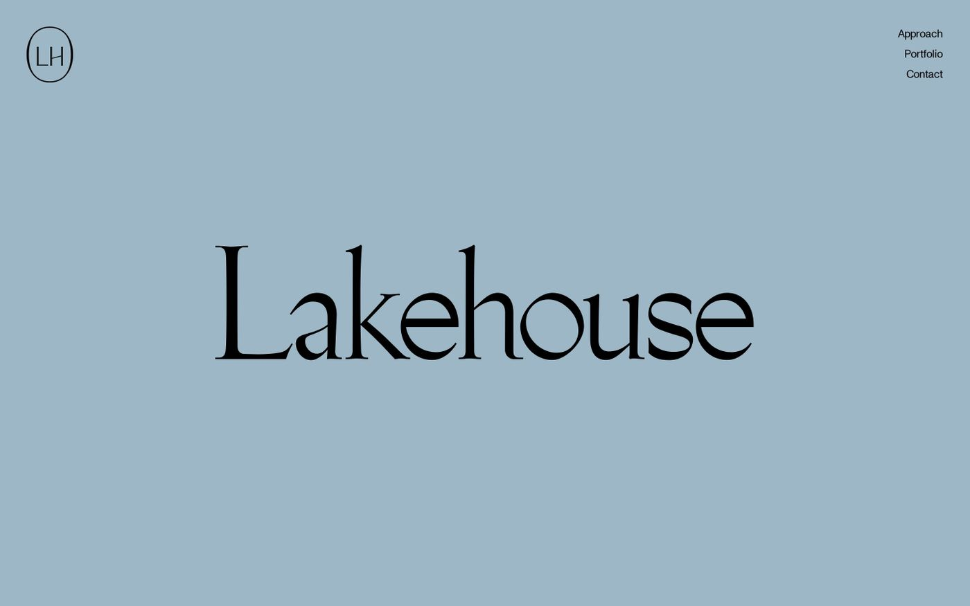 Screenshot of Lakehouse Ventures website