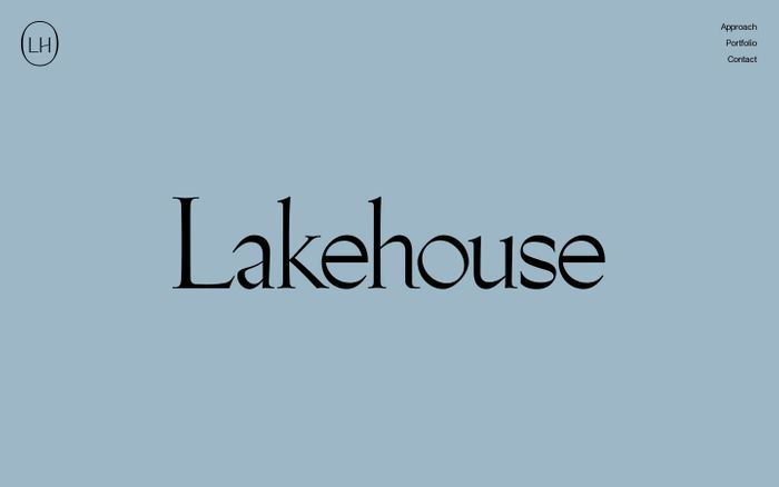 Screenshot of Lakehouse Ventures website
