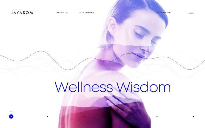 Screenshot of Jayasom — Wellness Wisdom