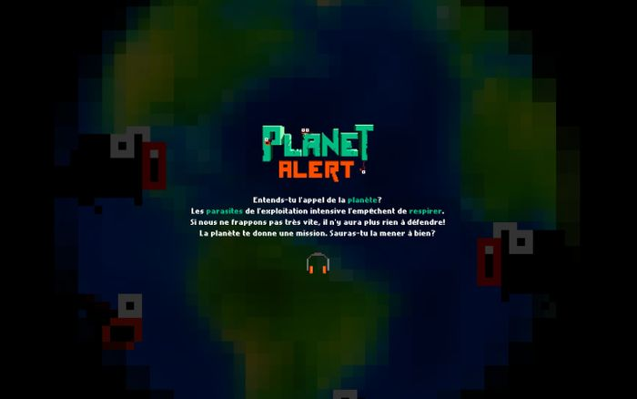 Screenshot of Planet Alert