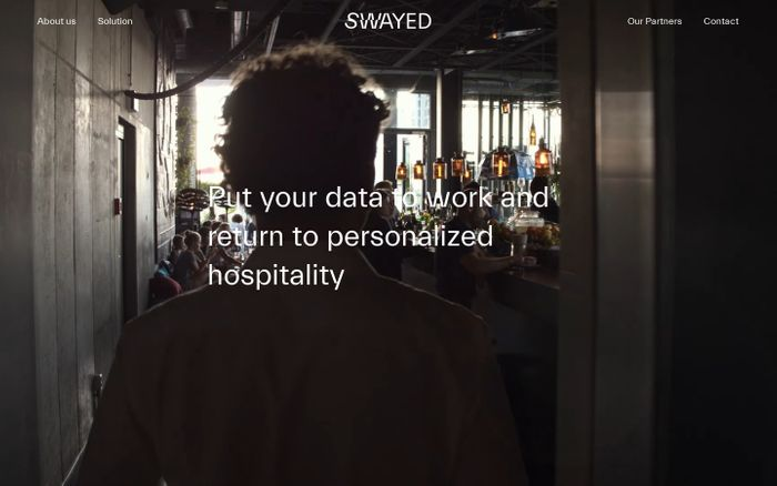 Screenshot of Swayed