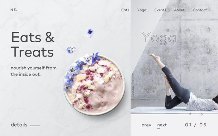 Screenshot of NourishEats – NourishEats by Joanna L.
