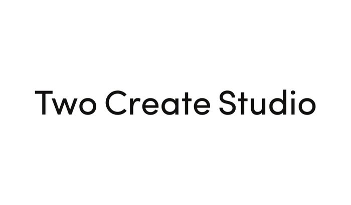 Screenshot of Two Create website