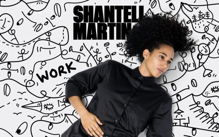 Screenshot of Shantellmartin website