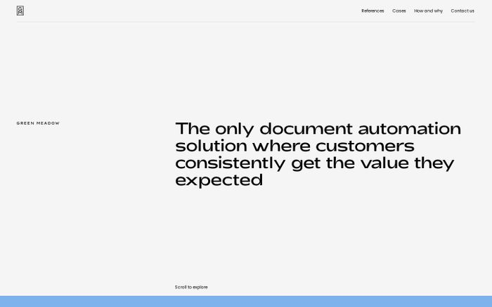 Screenshot of Document Drafter - Document Automation - Green Meadow