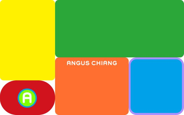 Screenshot of Angus Chiang website