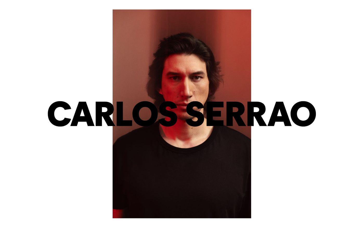 Screenshot of Carlos Serrao website