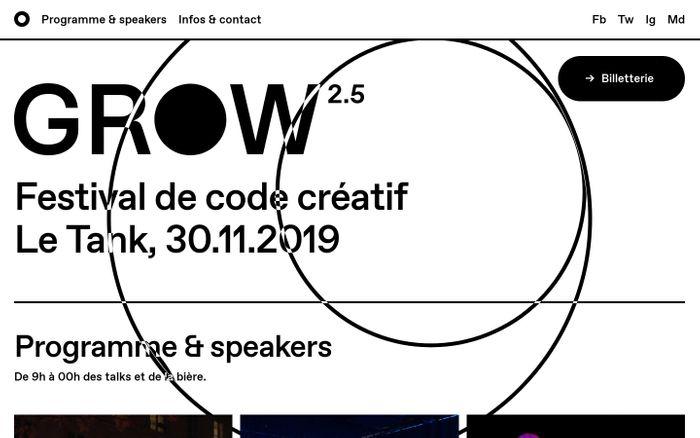 Screenshot of GROW Paris 2.5