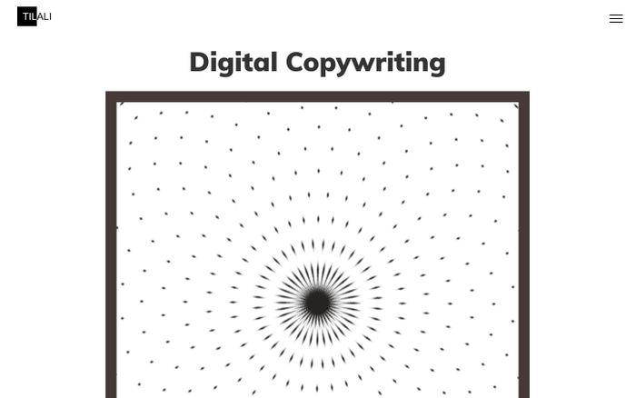 Screenshot of Digital copywriters