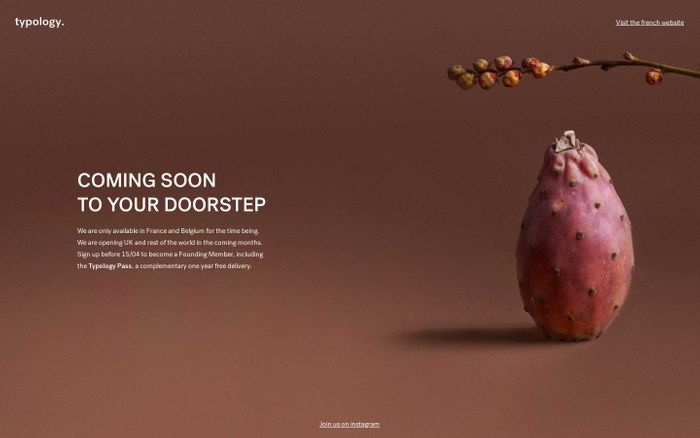 Screenshot of Coming soon to your doorstep | Typology - Typology