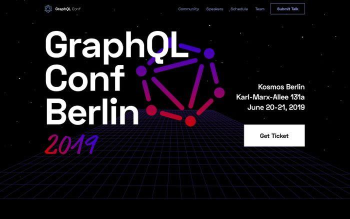 Screenshot of GraphQL Conf - Berlin 2019