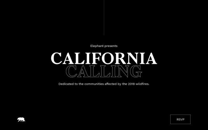 Screenshot of California Calling