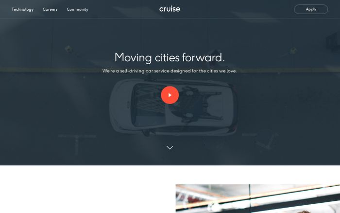 Screenshot of Cruise