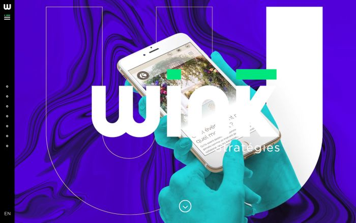Screenshot of Wink Strategies - Agence de communication