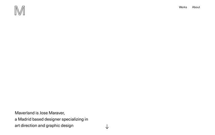 Screenshot of  maverland.com