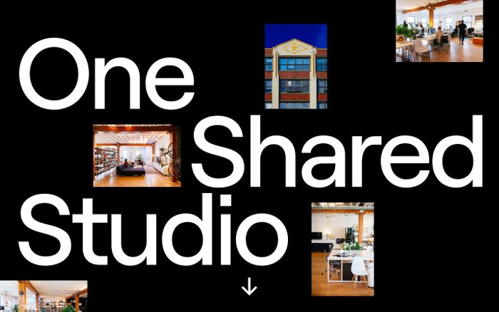 Screenshot of One shared studio